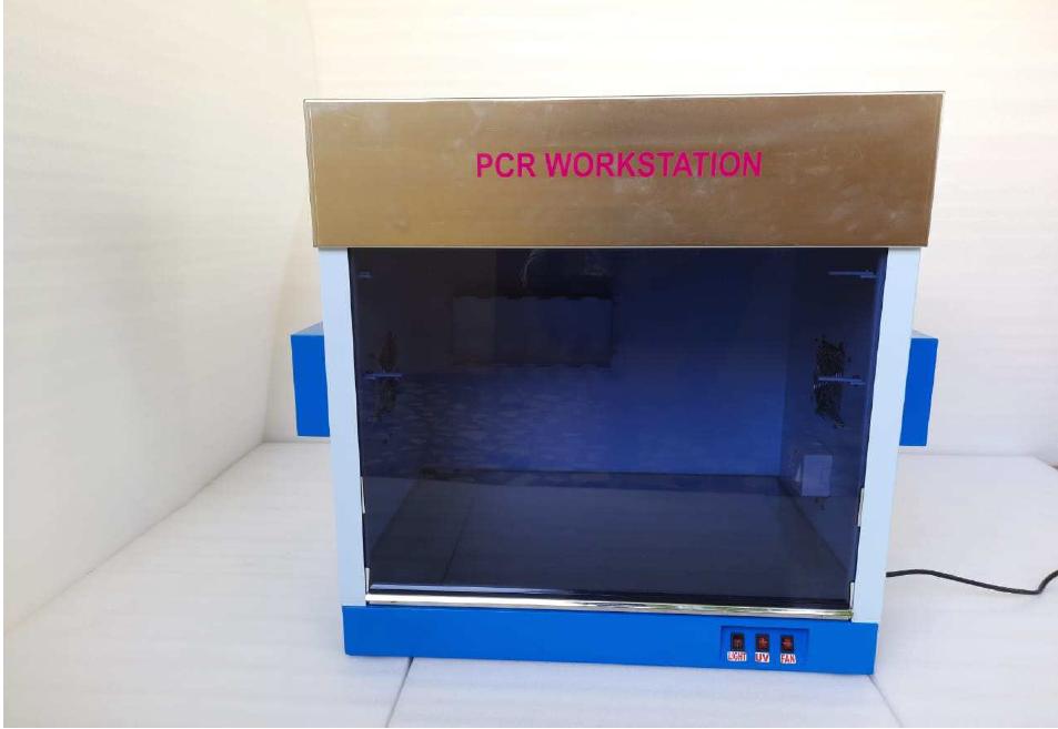 ASP Laminar Air Flow Cum PCR Workstation