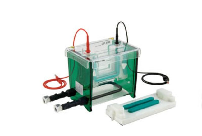 Mini dual vertical Gel unit with cooling system
